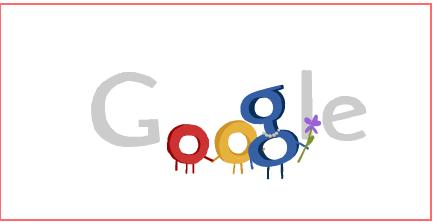 Google doodle 母亲节