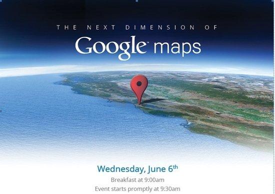 新版谷歌地图