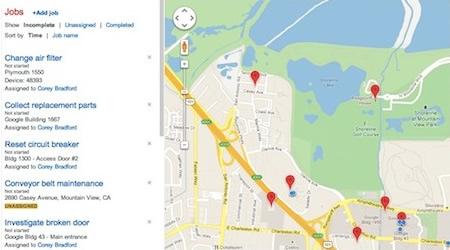 """谷歌地图""""坐标""""服务上线"""