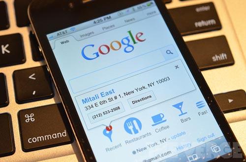 移动搜索市场是谷歌的天下