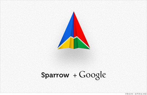 谷歌收购iOS和OS X电子邮件客户端Sparro