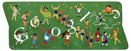 今日Google doodle:闭幕式