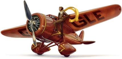 世界上第一位飞越大西洋的女飞行员Amelia Earhart诞辰115周年