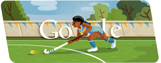谷歌奥运2012:曲棍球