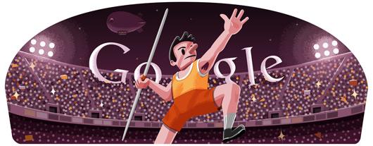 今日Google doodle:标枪