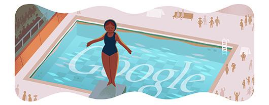 Google doodle:跳水