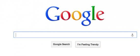 谷歌首页变脸