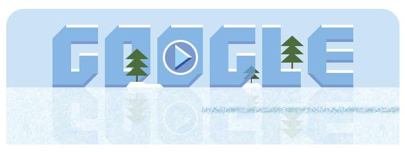 Google首页纪念磨冰机发明人Frank Zamboni诞辰112周年