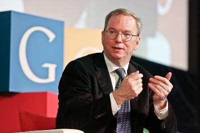 谷歌董事长施密特