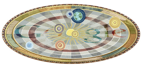 Google doodle纪念哥白尼诞辰540周年