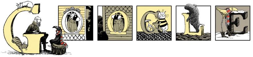 Edward Gorey诞辰88周年