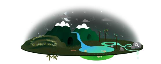 Google doodle:世界地球日