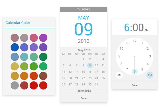 新版谷歌日历