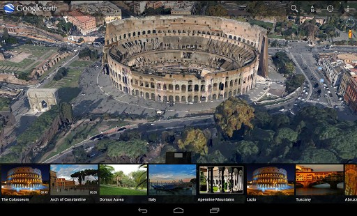 android版谷歌地球将支持街景功能
