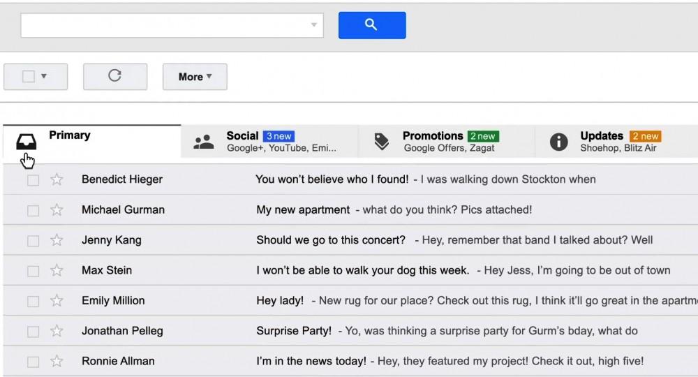 新版Gmail