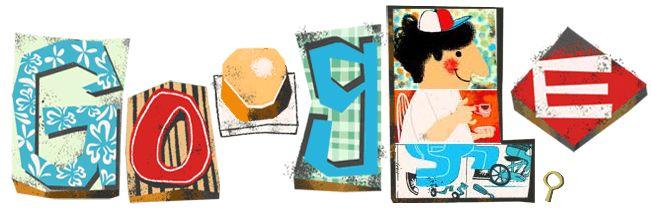 Google doodle:2013父亲节
