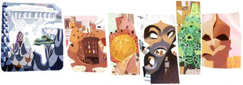 西班牙建筑大师安东尼·高迪诞辰161周年
