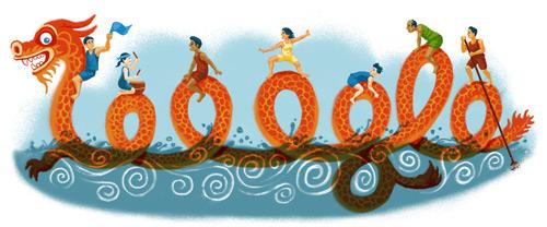 Google doodle:2013端午节快乐