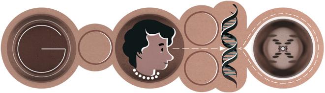 罗莎琳·富兰克林诞辰93周年
