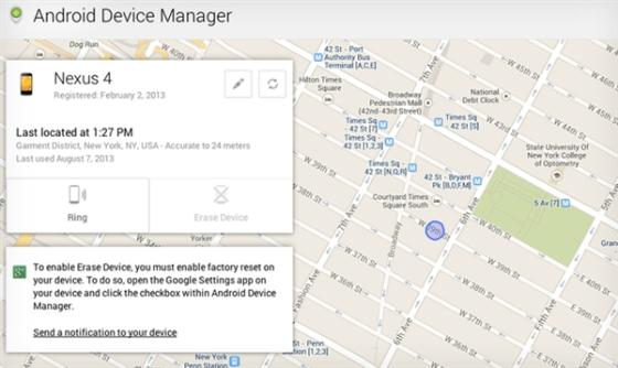 谷歌android设备定位服务正式上线