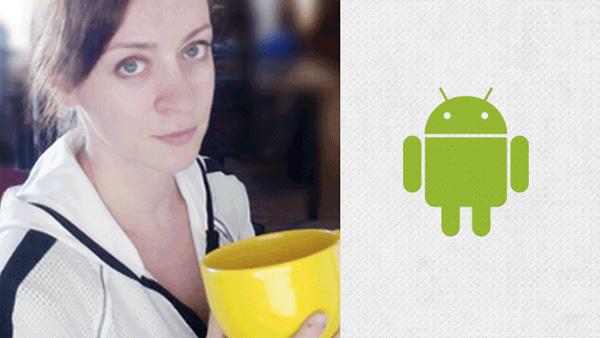 Irina Blok和她设计的android标志