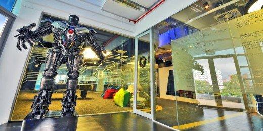 谷歌亚洲数据中心运行