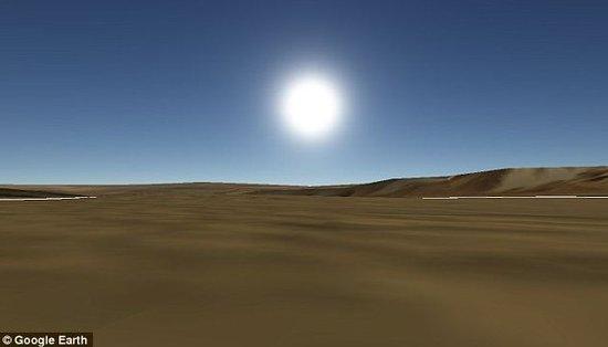 谷歌地球更新的火星盖尔撞击坑图像