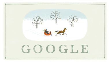Google doodle:圣诞节快乐
