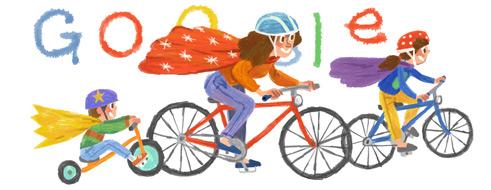 谷歌首页涂鸦:2014母亲节