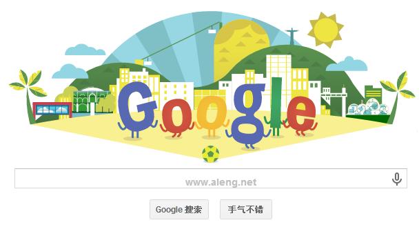 Google Doodle:2014巴西世界杯