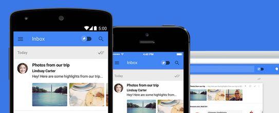 谷歌发布邮件服务Inbox