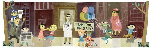 沙克疫苗发明人約納斯·沙克诞辰100周年