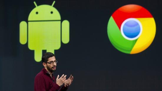 谷歌产品负责人桑达尔·皮猜(Sundar Pichai)
