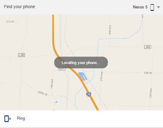 谷歌搜索推找回手机功能