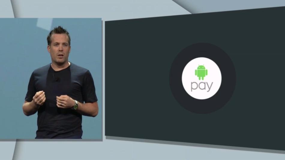 谷歌发布移动支付Android pay