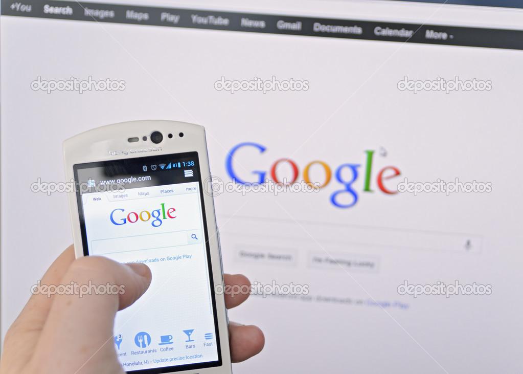 谷歌移动搜索首超PC