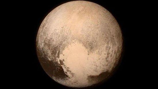 冥王星最清晰照片发回