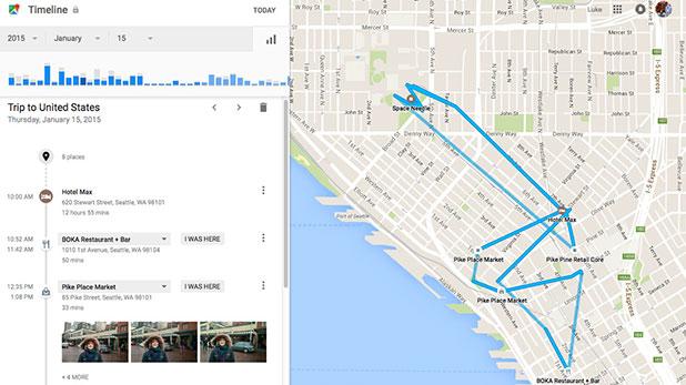 谷歌地图增加时间轴功能