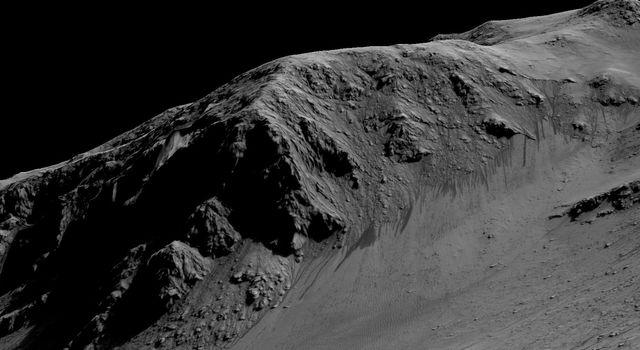 美帝宣布在火星上发现液态水