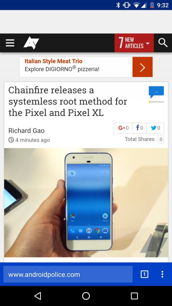 Chrome尝试改变UI