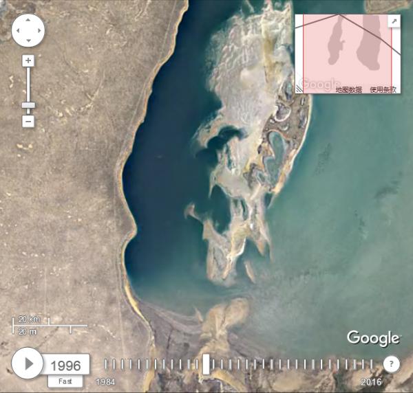 谷歌发布延时视频记录地球30年变化